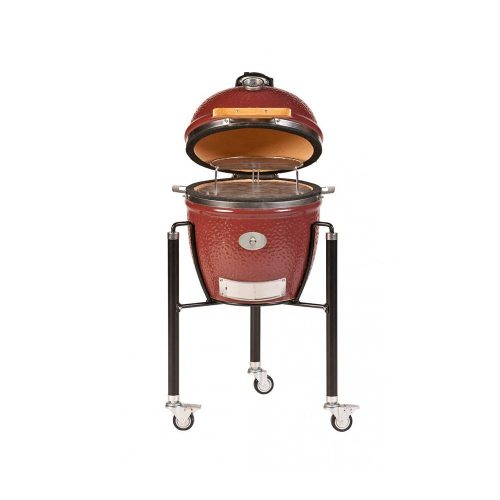 MONOLITH Junior grill – vörös + acélkocsi