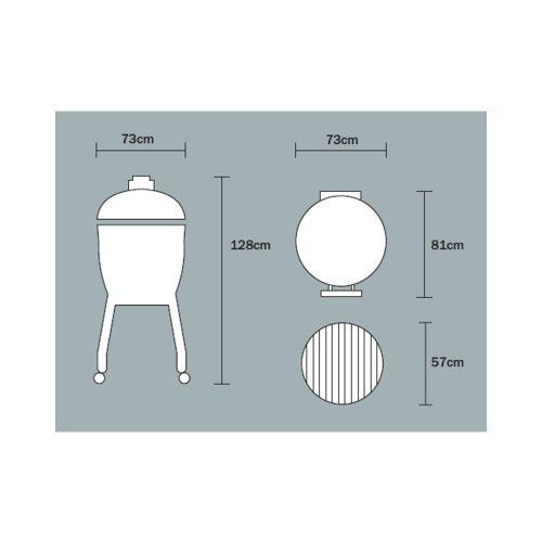 MONOLITH Le Chef grill – fekete, beépíthető