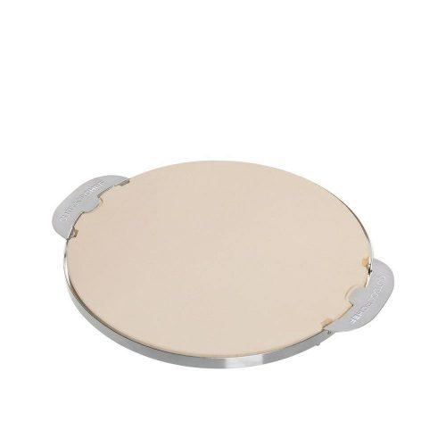 Pizzakő 420/480 acél kerettel