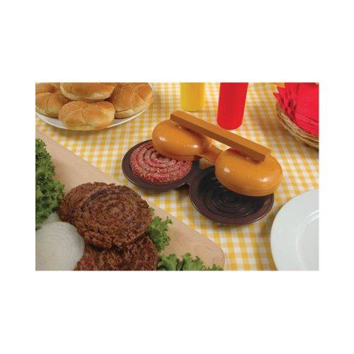 Dupla hamburger pogácsa készítő