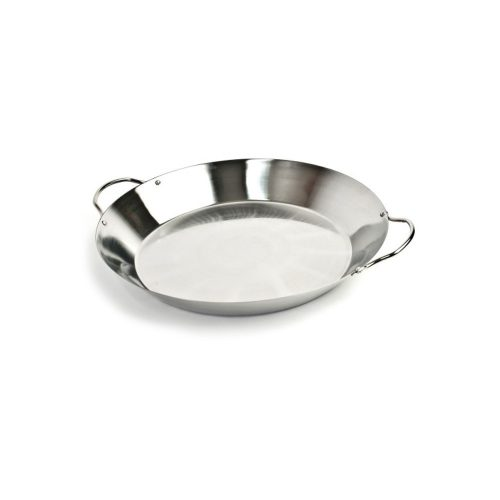 Rozsdamentes acél Paella edény
