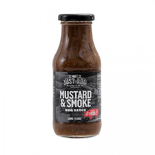 Mustáros-füstös BBQ pác és szósz 250ml