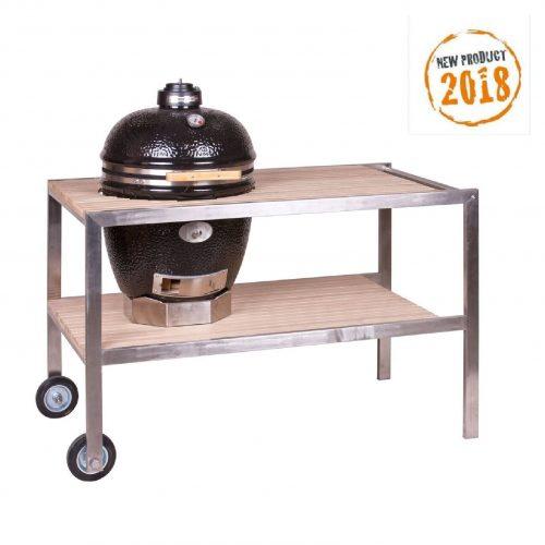 Rozsdamentes nemesacél tikkfa asztal, Új 2018-as termék