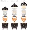 Monolith közvetett, közvetlen és pizzasütési módszer