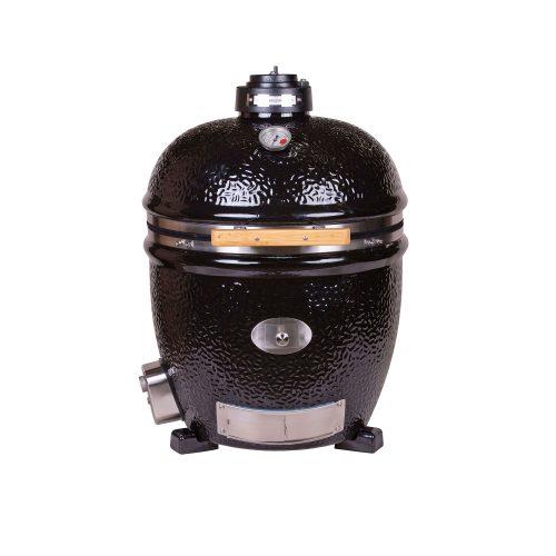 MONOLITH Classic grill – BBQ Guru – fekete, beépíthető