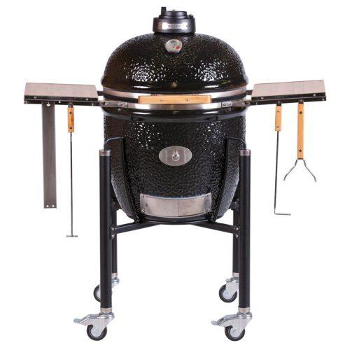 MONOLITH Classic grill – Pro Serie + acélkocsi + oldalasztal