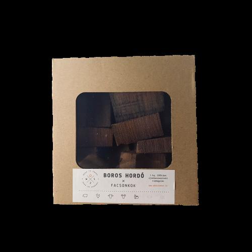 Füstölőfa csonk – boroshordó