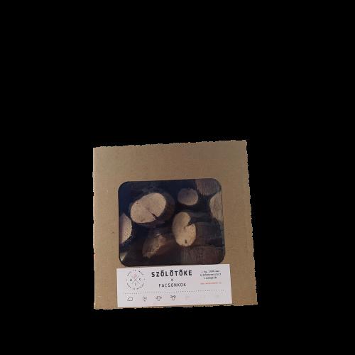 Füstölőfa csonk – szőlőtőke