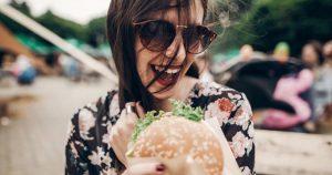 Szaftos hamburger a grillen