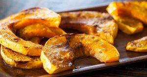 Igazi őszi csemege: a grillezett sütőtök