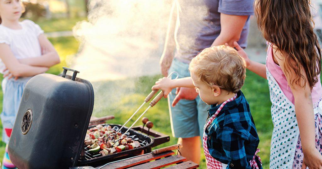 grillezés gyerekkel