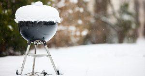 grill téliesítés