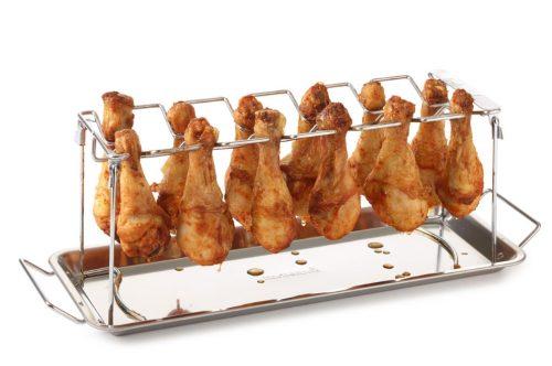 Csirke comb tartó