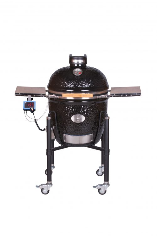 MONOLITH grill LeChef BBQ Guru Pro series 2.0, fekete, kocsival